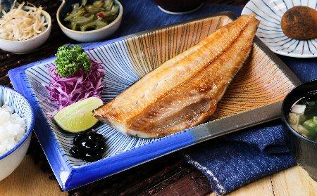 花魚一夜干定食