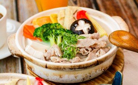 豚骨豬肉鍋定食