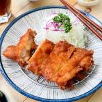 日式炸雞腿定食